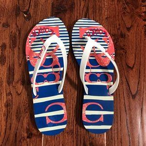 Coach kali jelly flip flops